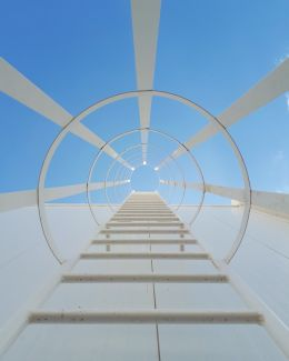 Fixed Ladder to Sky