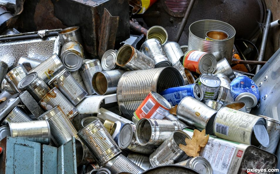 Used Food Cans
