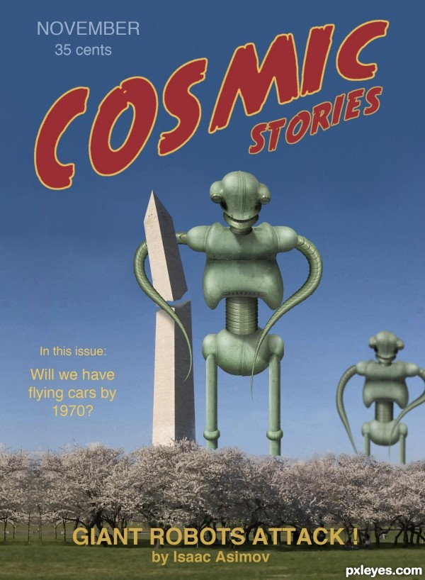 Creation of COSMIC STORIES: Final Result