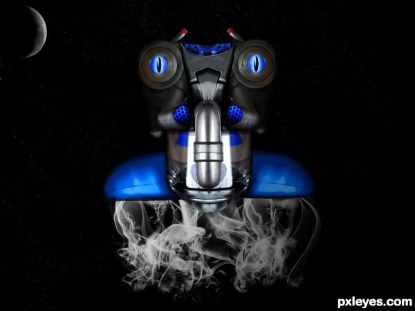 Vacuum Lunar Bot
