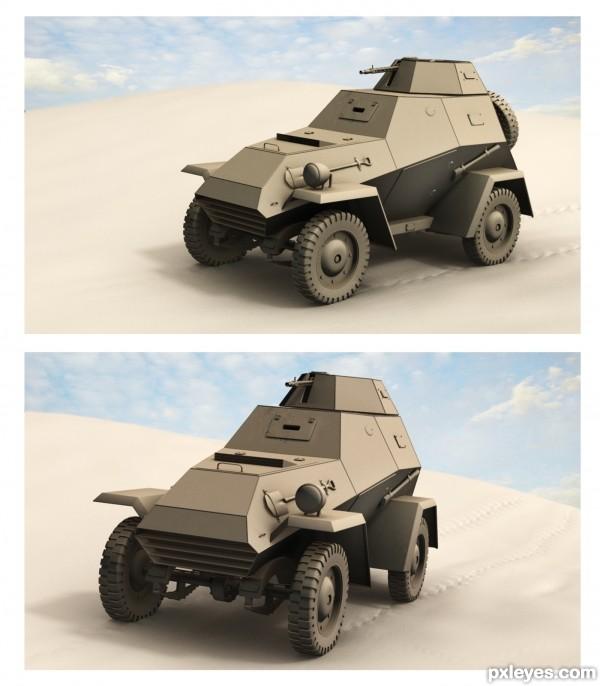 BA 64 Russian WW tank