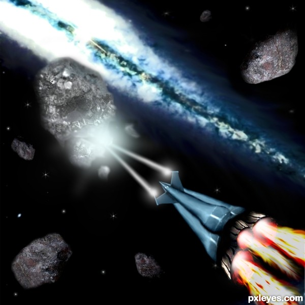 Shooting Asteroids