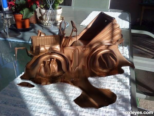 Melting Chocolate Car
