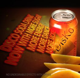 Disco Soda Drink