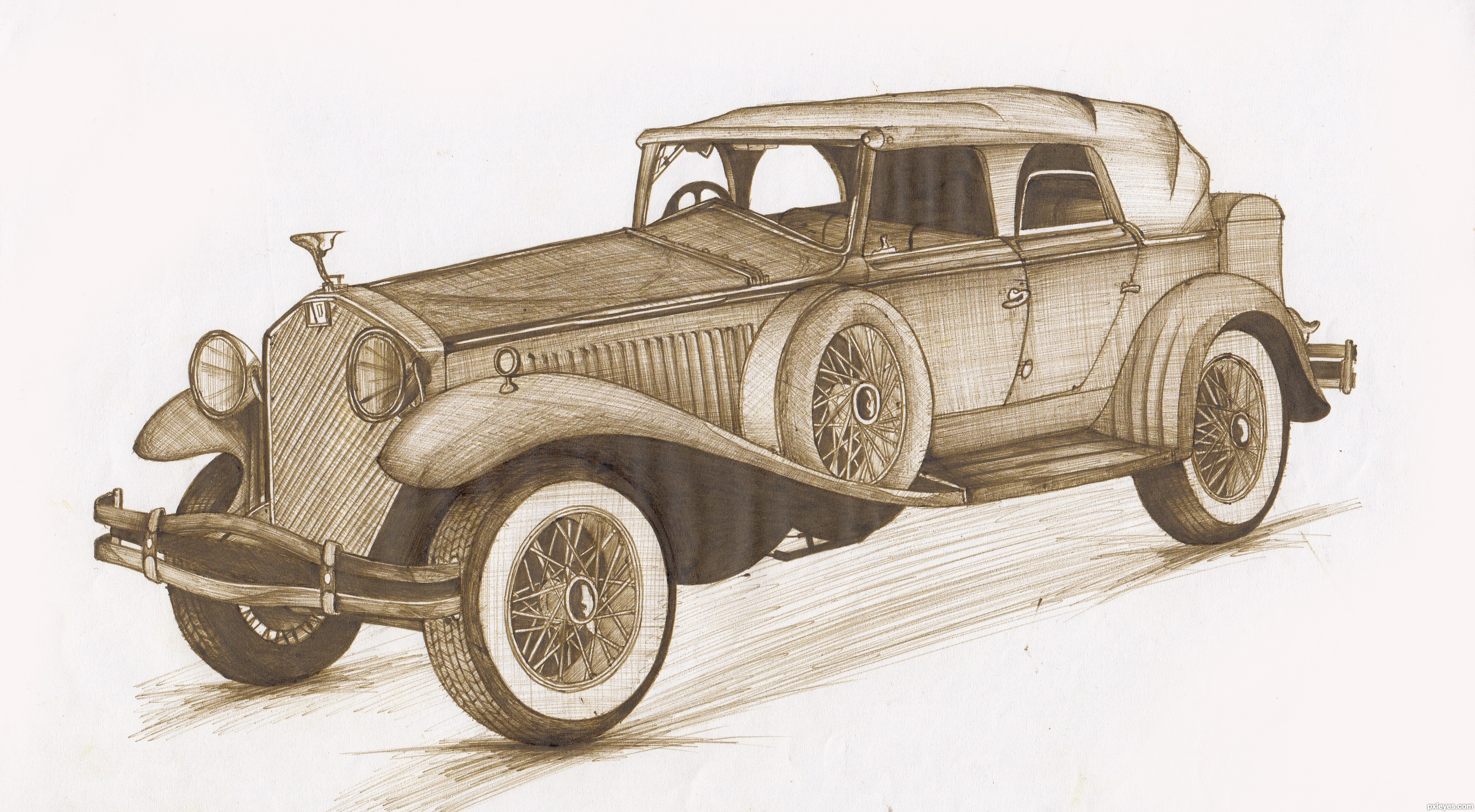 Old Memories picture, by LKY for: vintage vehicles drawing contest ...