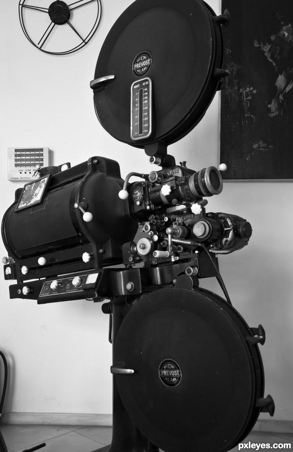 Prevost fil projector