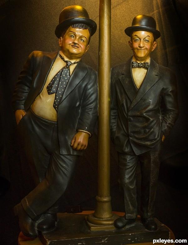 The vintage comedians