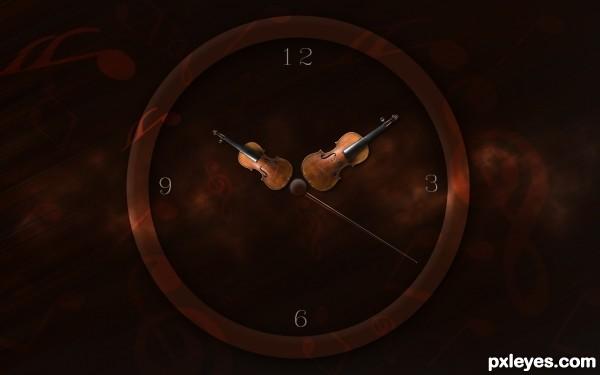 Clock Violin