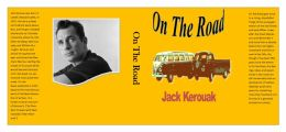 On The Road dust Jacket