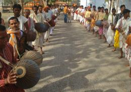 ready for street processions