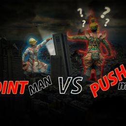 Pointman VS Pushman Picture