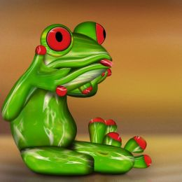 FrogFromWaterDrop