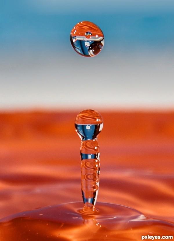 Drop in the drop