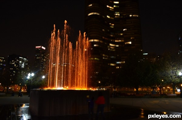 Fountain Navy Pier Chicago