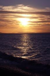 SunsetShiningontheShore