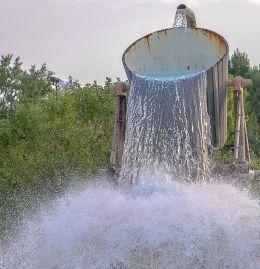 One big bucket of water