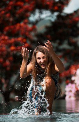 We love water =)