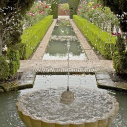 Alhambrafountainandgarden