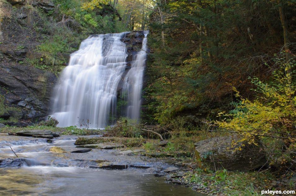 Back Woods Falls