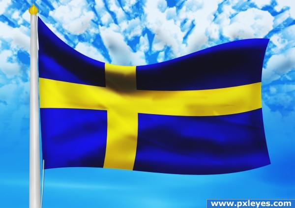 Creation of Sweden.: Final Result