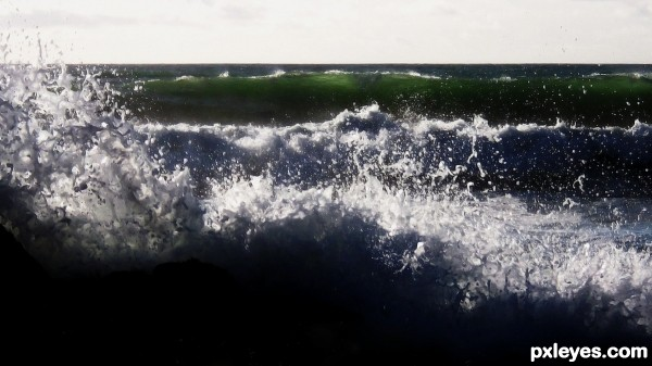 Jade Green Splash