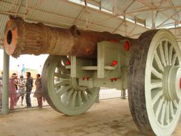 WorldsBiggestwheeledcannon