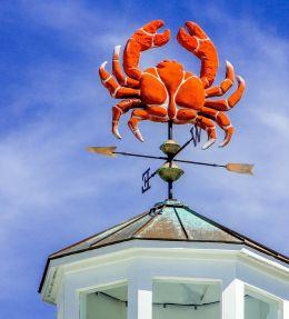 crabby weather vane
