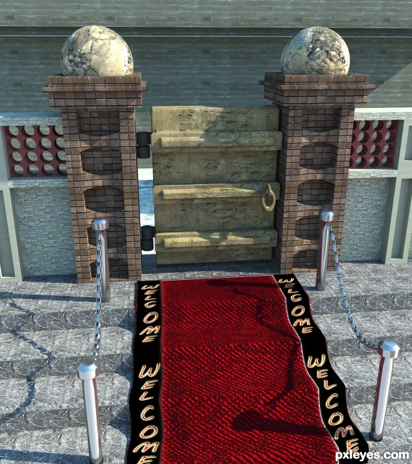 Royal Welcome Mat