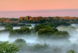 Misty Valley in Southern Ontario