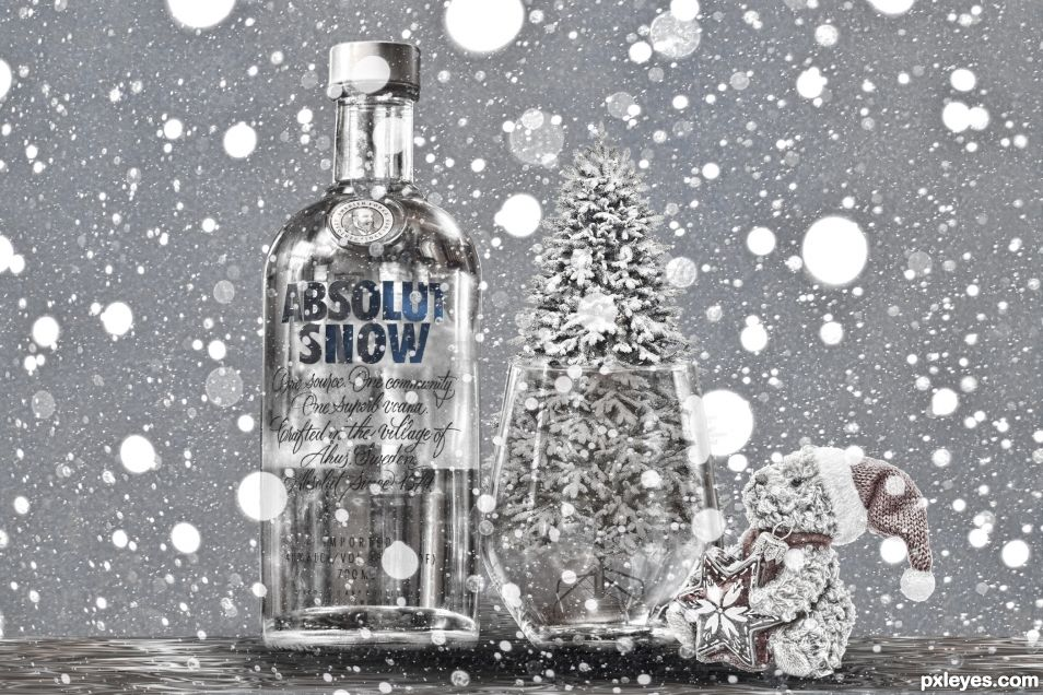 Absolut Snow or I think I might get sued