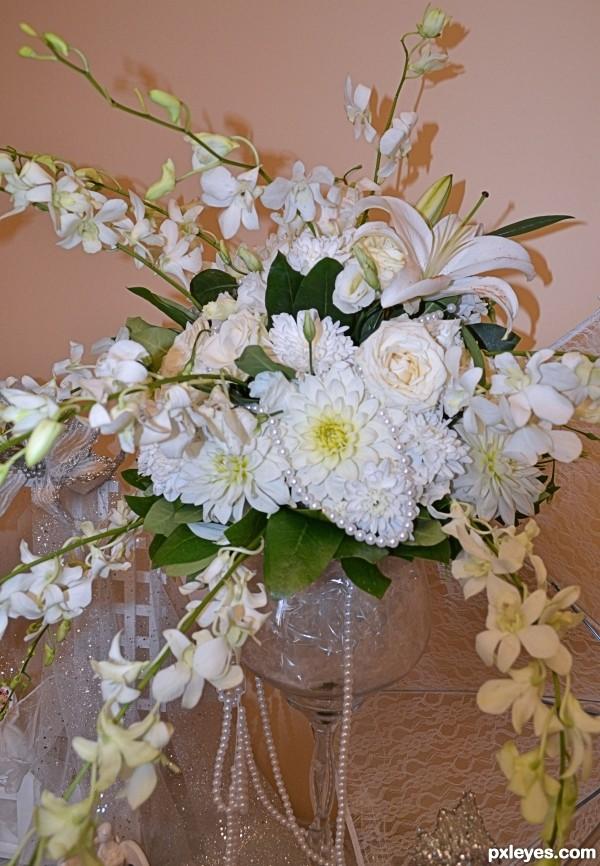 White like a bride!