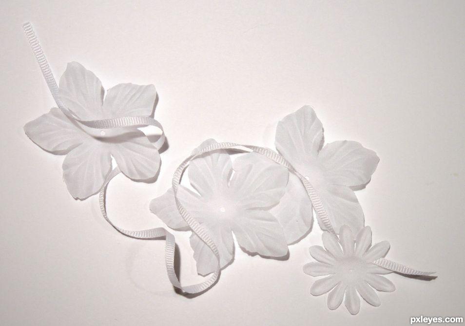 Flowers n Ribbon