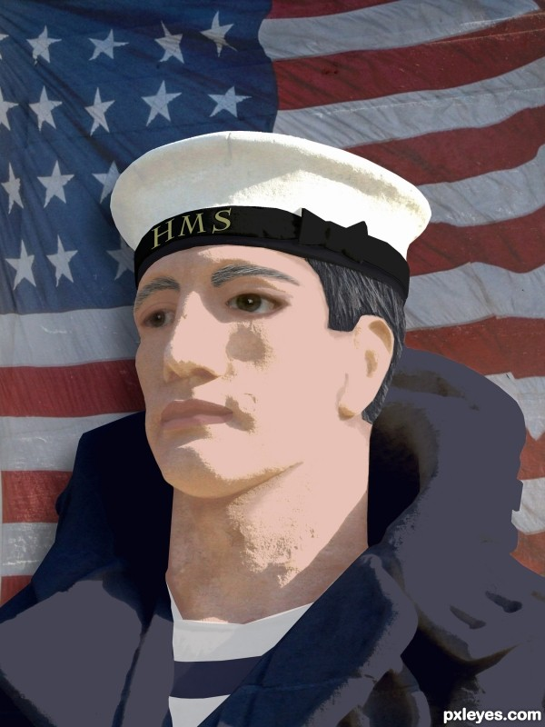 HMS soldier in USA