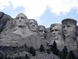 Mount Rushmore...plus one.