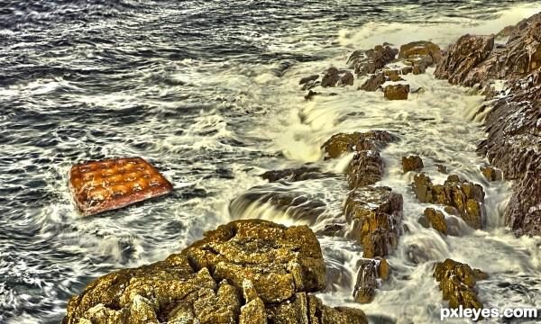 Pretzel Raft