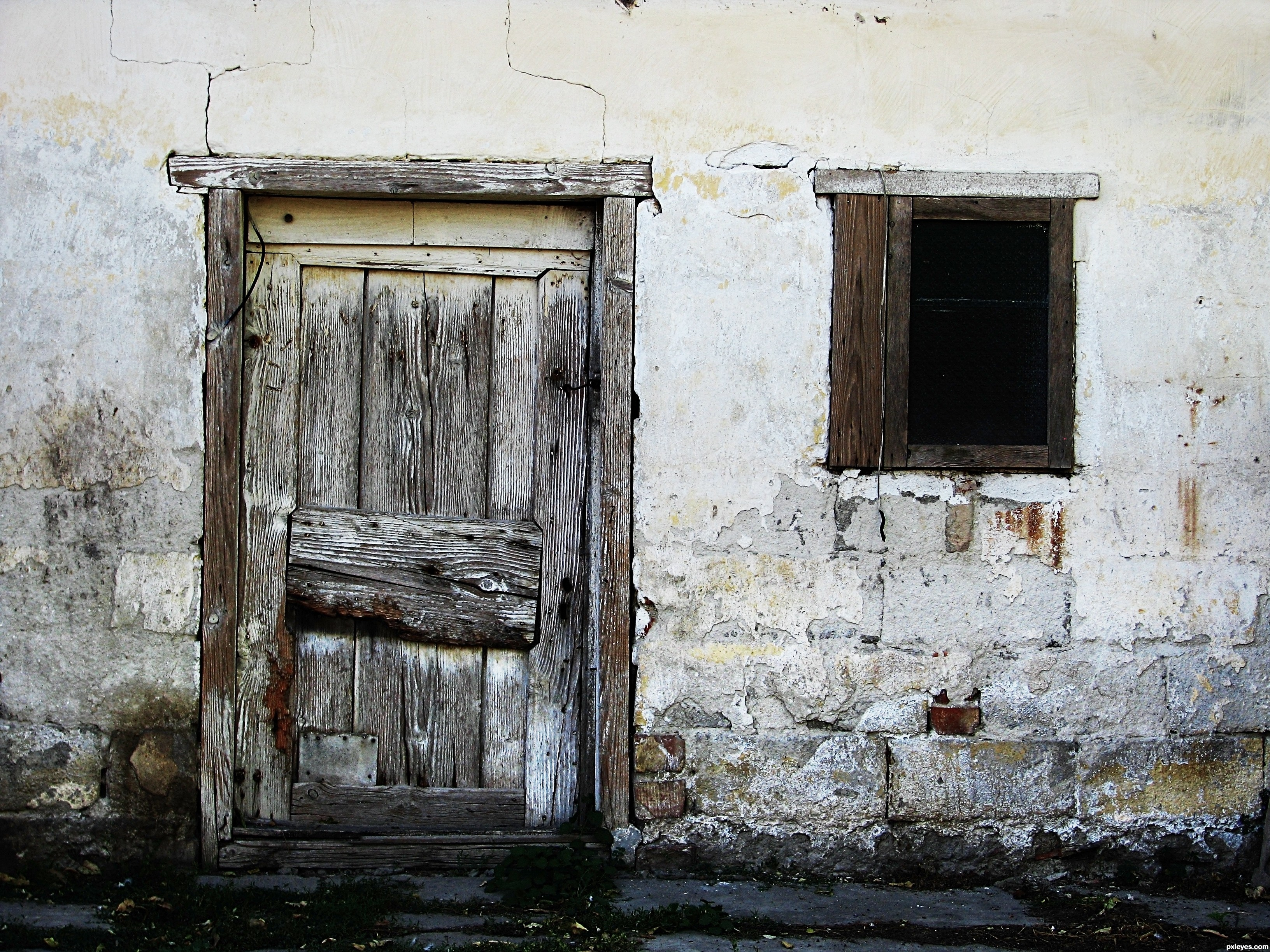 Old door and window - created by tothzoli001 & Window And Door Photography Contest (15512) Pictures Page 1 ... Pezcame.Com