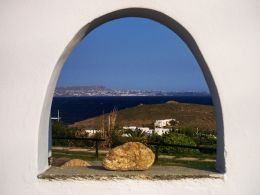 view in Mykonos