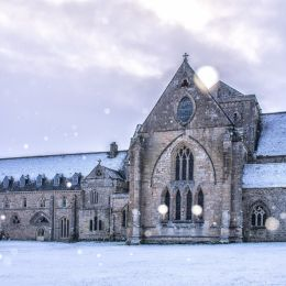 Pluscarden Abbey Picture