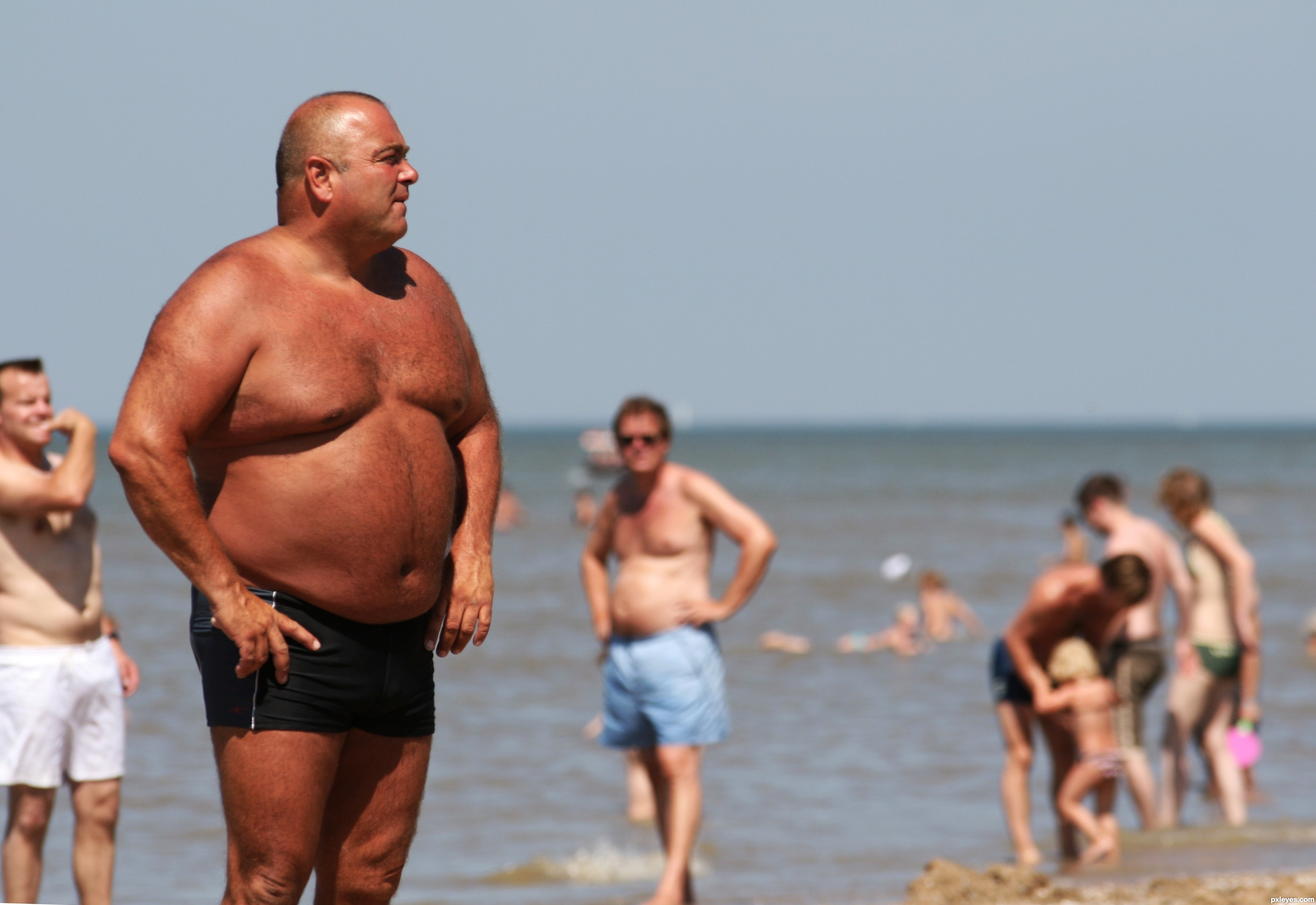Пьер вудман секс на пляже 9 фотография