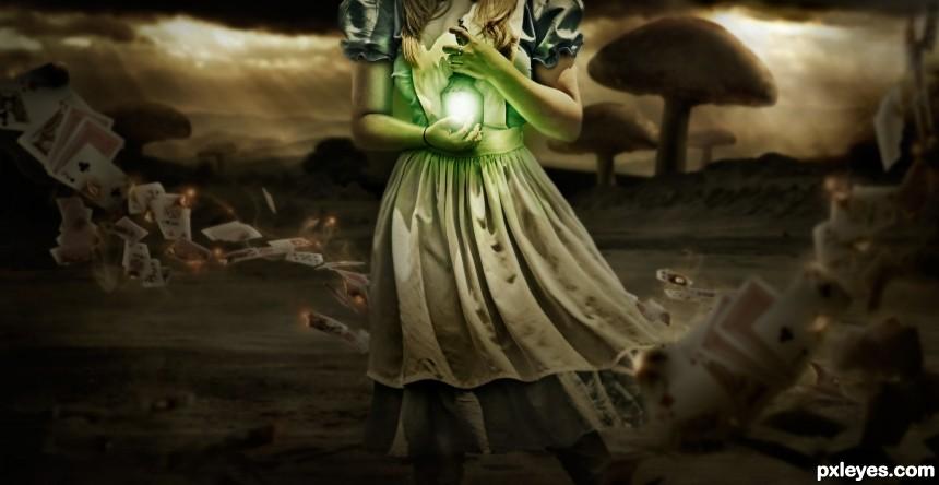 Alice Returns photoshop picture)
