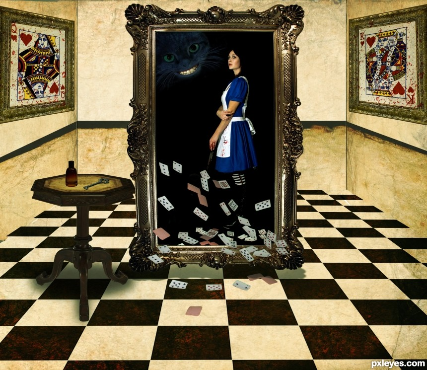 Bad Alice photoshop picture)