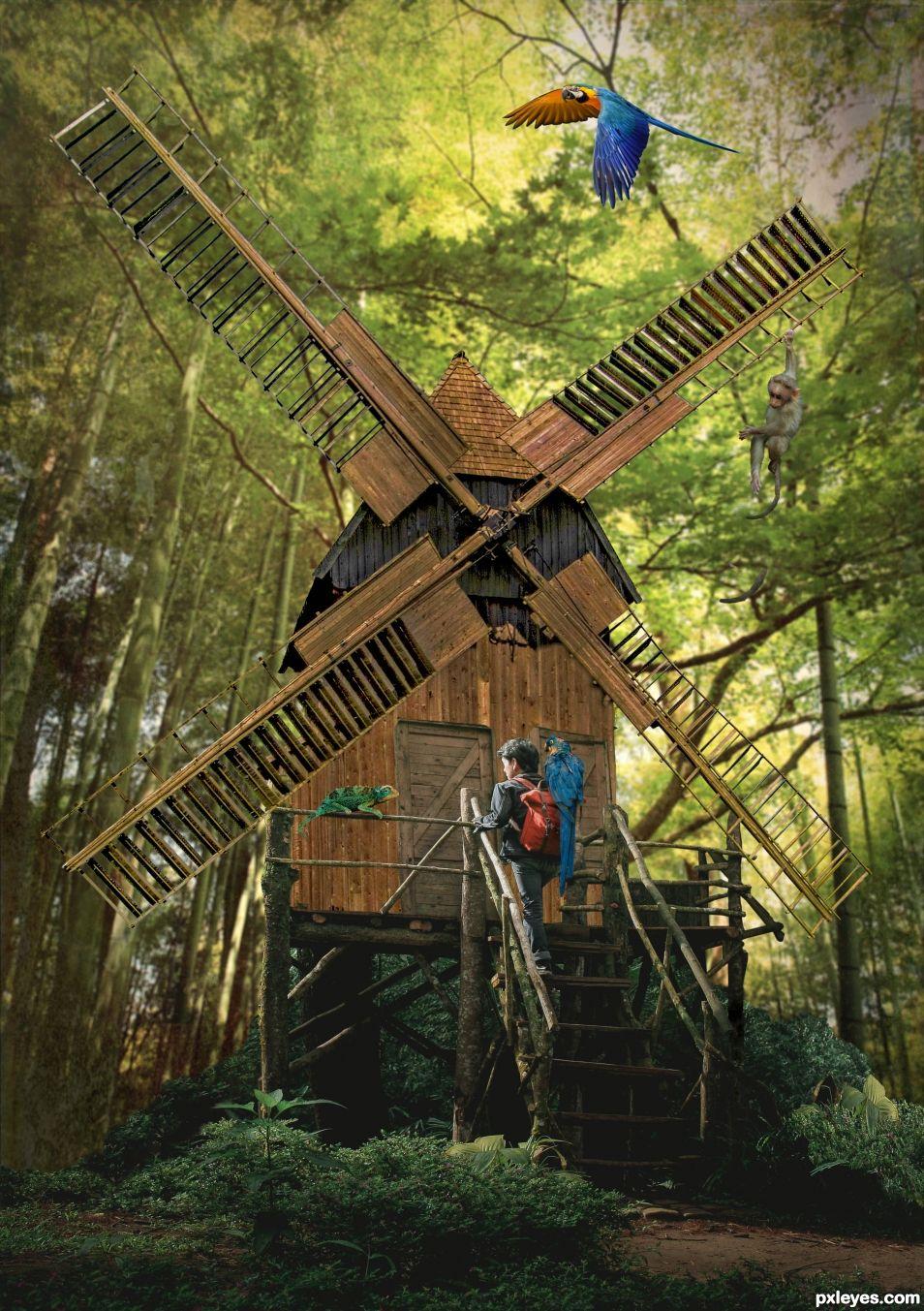 Jungle mill