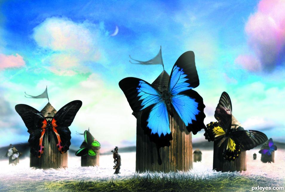 butterfly singer
