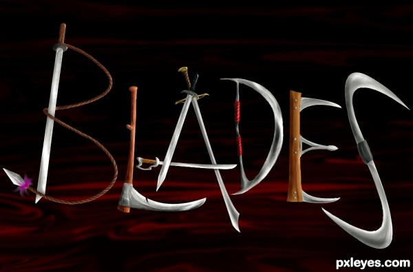blades photoshop picture)