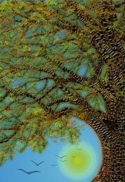 Trunk, Branch, Twig, Leaf