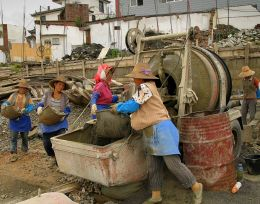 Cement Mixer Picture