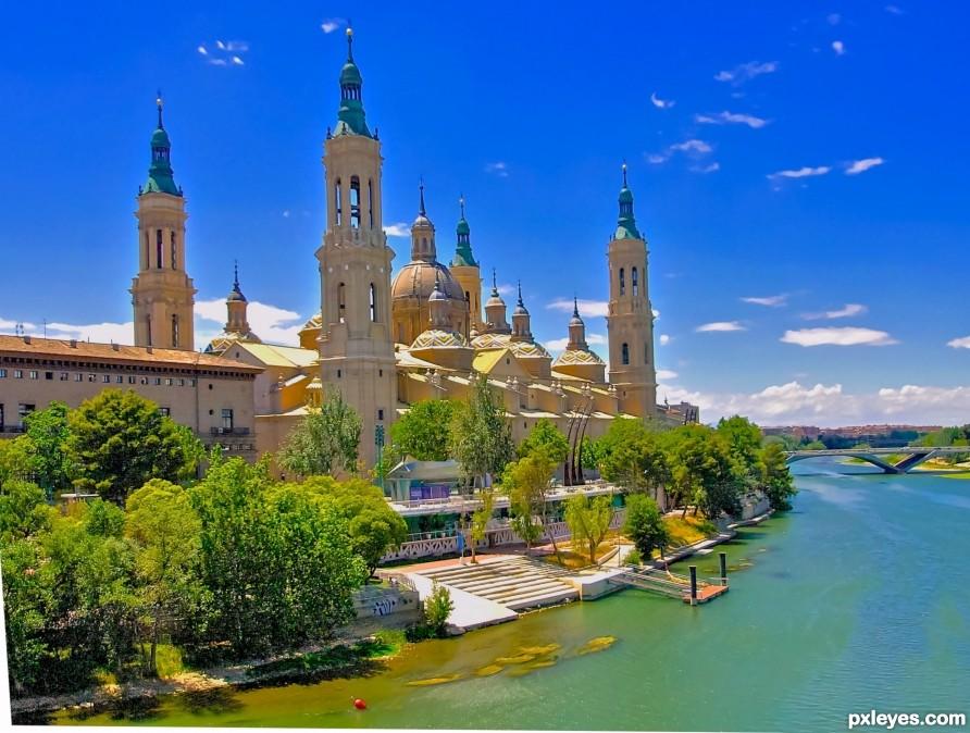 Basilica of our Lady of the Pillar -Zaragoza