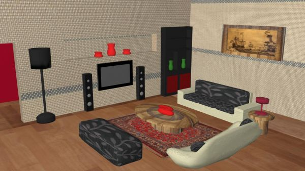 Your Living Room 3D Contest (13165), Pictures Page 1