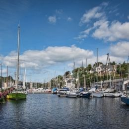 Morlaix, the marina Picture