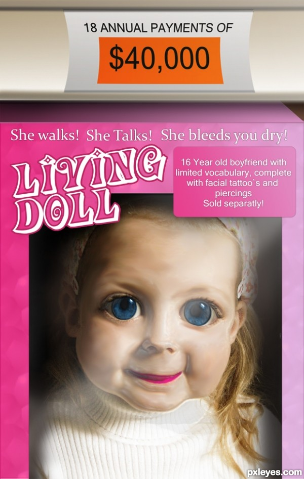 Creation of Living Doll: Final Result